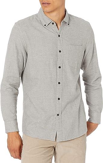 Marca Amazon - Goodthreads: camisa de franela de manga larga y ajuste estándar para hombre