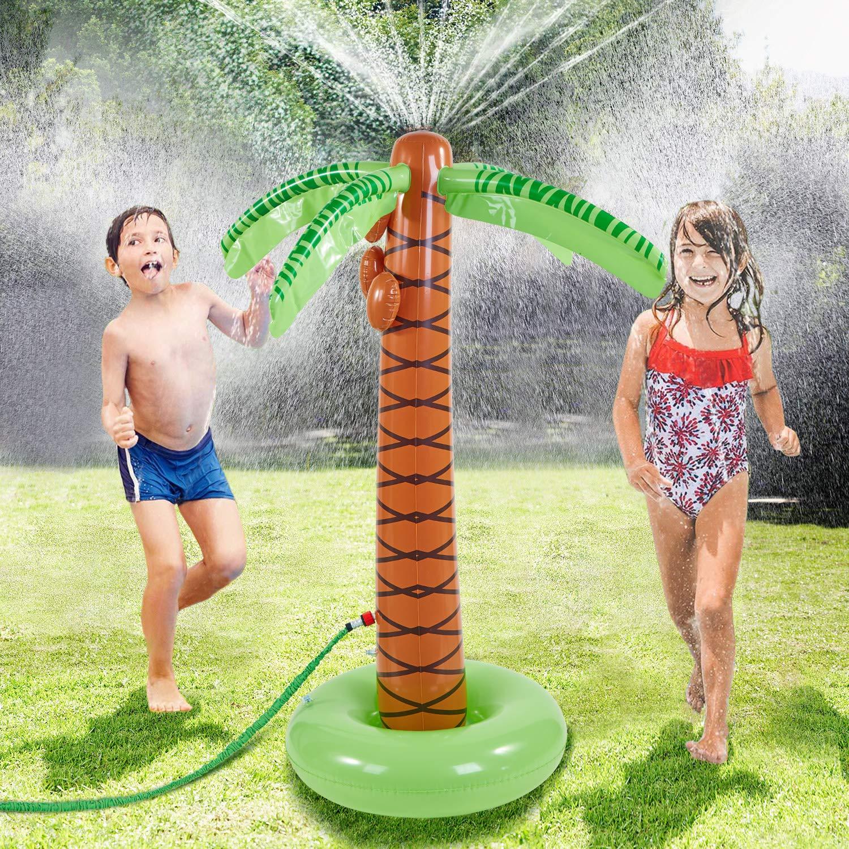 COUOMOXA Chirtmas Decorate Tree Christmas Tree Xmas Gift Water Sprinkler Toy