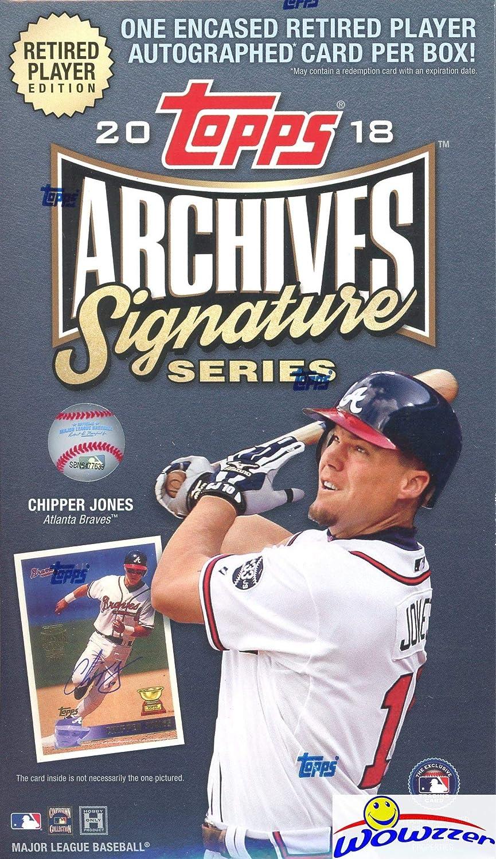 2018 Topps Archives Signature Series Active Baseball Factory Sealed Hobby Box