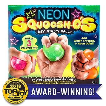 Amazon Com Neon Squoosh O S D I Y Stress Ball By Horizon Group Usa
