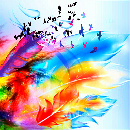 Colors in the Wind (Italian In Feather)