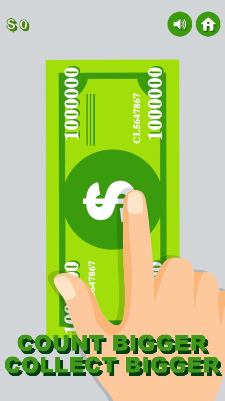 Amazon com: Money Clicker - Idle Dollar Counter Game - Tap
