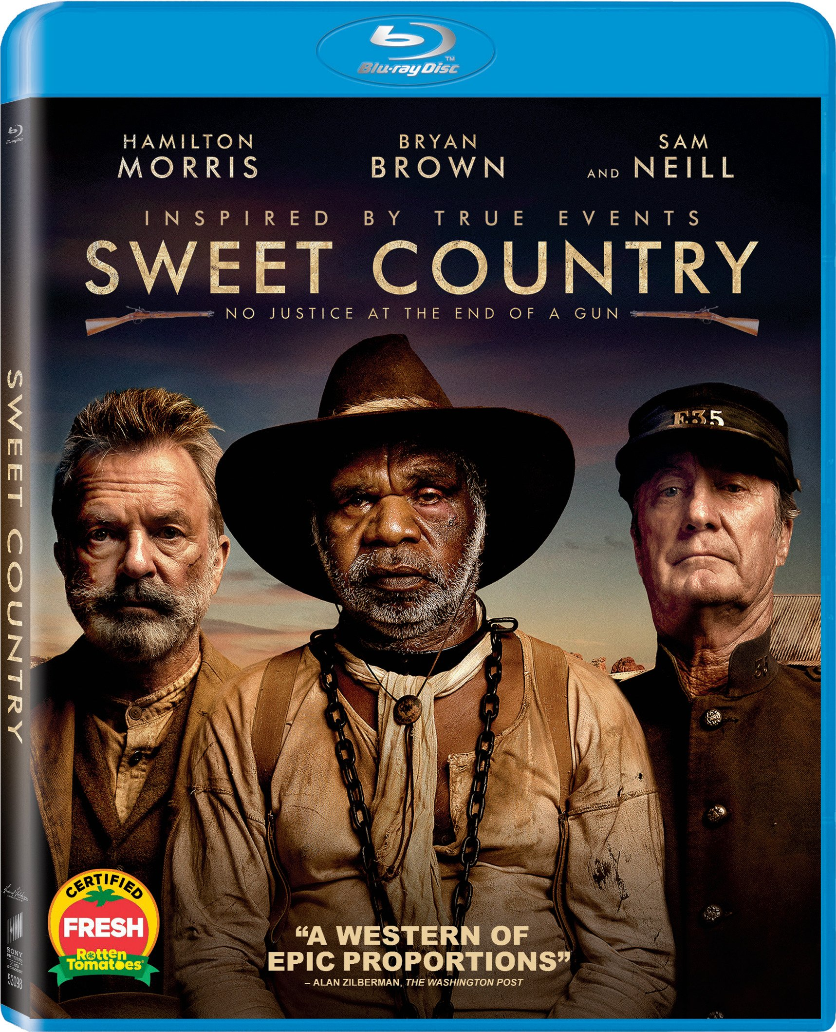 Blu-ray : Sweet Country (Widescreen, Dolby, AC-3, Subtitled)