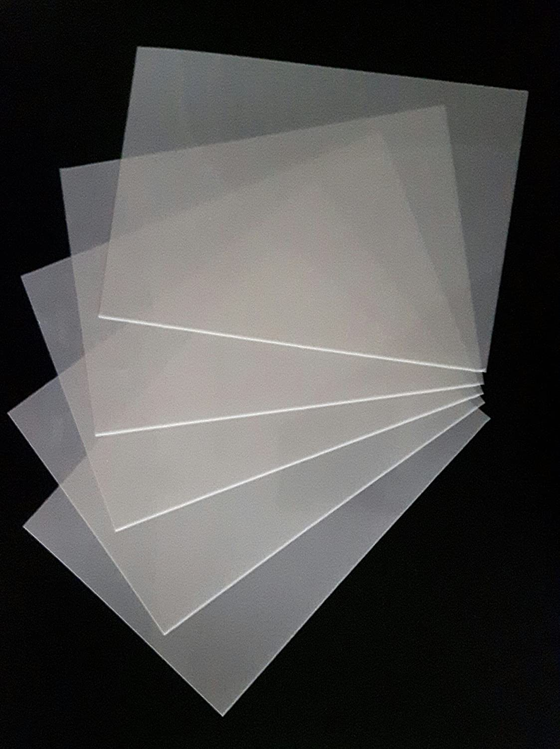 Dazzle Cards 10 x A5 Genuine Mylar sheets 125 micron reusable hobby craft stencils