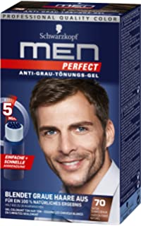 Schwarzkopf Men Perfect Anti Grau Tönungs Gel 30 Natur Mittelblond