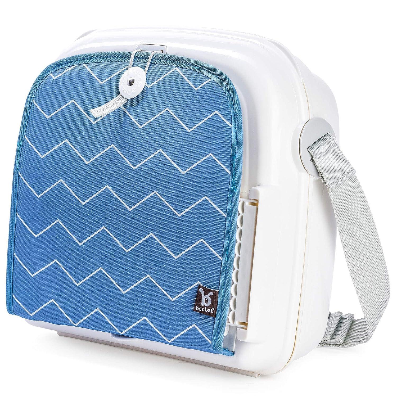 Benbat Accessoire YummiGo Booster Blanc et Bleu