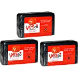 Yes To Tomatoes Clear Skin Activated Charcoal Bar Soap 7 Ounce (Pack of 3)
