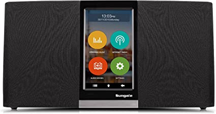 Amazon.com: Sungale Wi-Fi Internet Radio con visualización ...