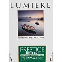 Lumière LUM3100135 Papier Photo Jet d'encre Blanc