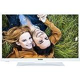 Telefunken XH28A101-W 72 cm (28 Zoll) Fernseher (HD Ready, Triple Tuner, DVB-T2 H.265/HEVC) weiß