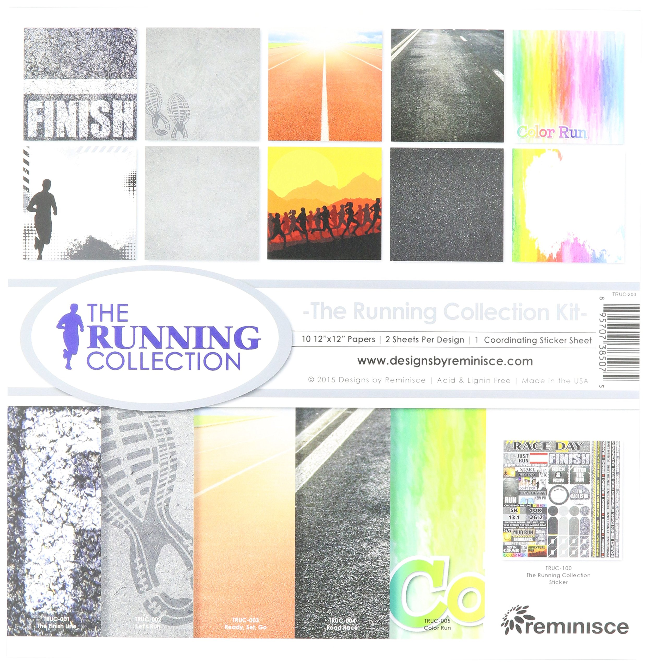 Reminisce The Running Collection Kit by Reminisce
