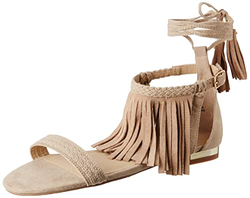 3512c606d2de Forever 21 Women s Taupe Fashion Sandals - 4.5 UK India (36.5 EU)(6.5  US)(0020728601)  Buy Online at Low Prices in India - Amazon.in