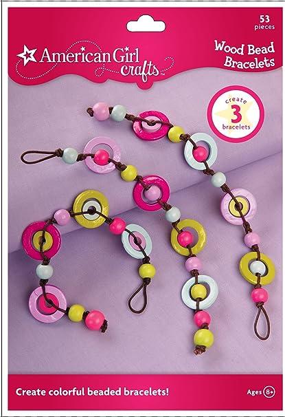 db9abe511 Amazon.com: American Girl Crafts DIY Bracelet Making Kit for Girls, 53pc:  Arts, Crafts & Sewing