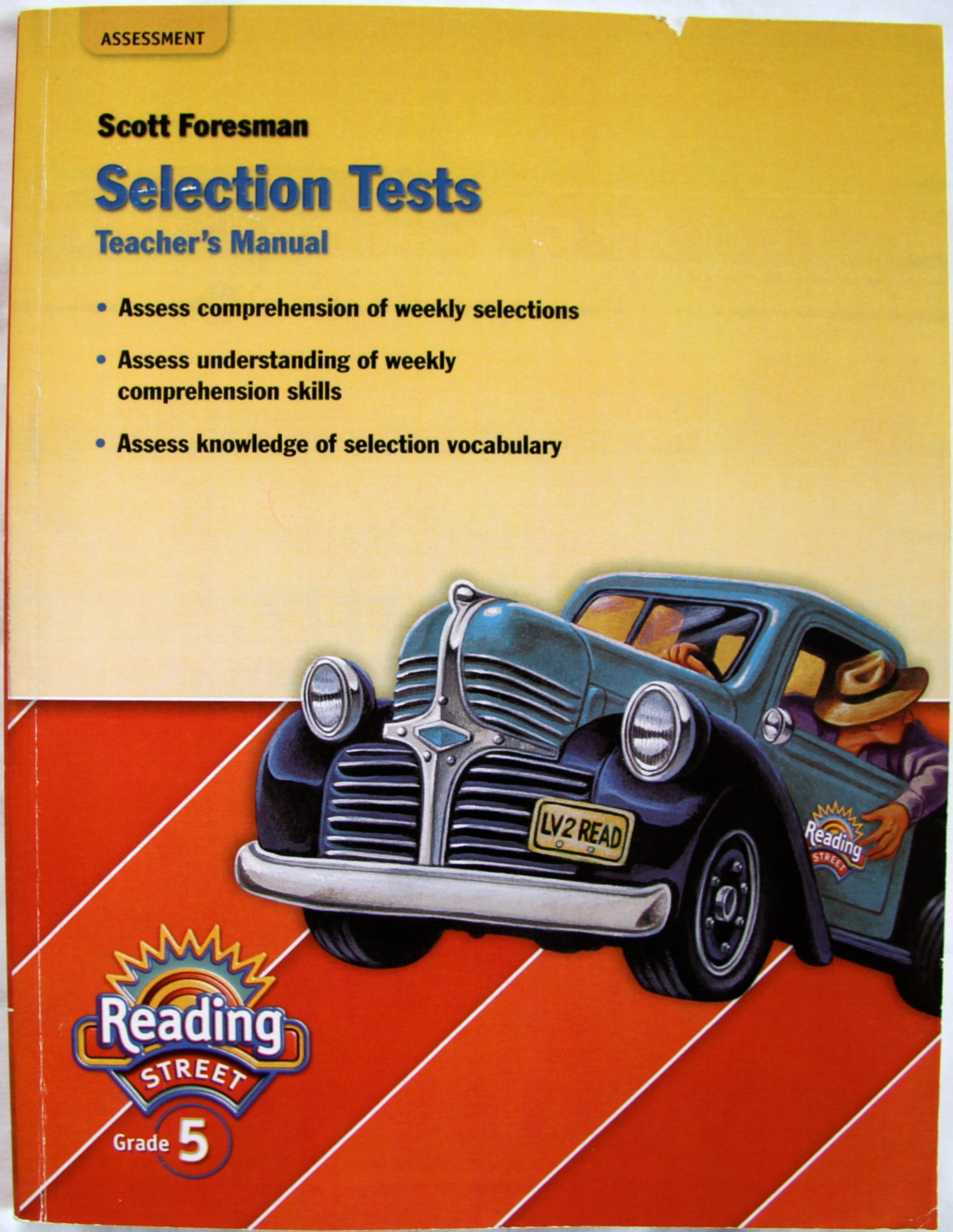 Teachers manual reading street selection tests grade 5 scott teachers manual reading street selection tests grade 5 scott foresman 9780328167821 amazon books fandeluxe Images