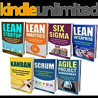 LEAN: THE BIBLE: 7 Manuscripts - Lean Startup, Lean Six Sigma, Lean Analytics, Lean Enterprise, Kanban, Scrum, Agile Project Management (English Edition)