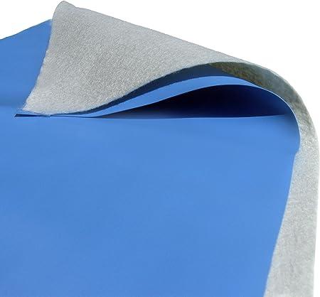 Amazon.com: Blue Wave - Almohadilla de revestimiento redonda ...