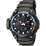 Casio Men's SGW-450H-2BCF Twin Sensor Analog-Digital Black Watch