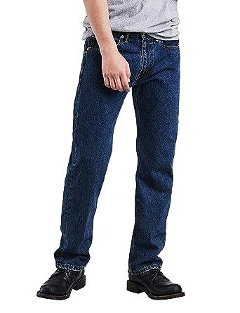 d838dda8b9b Levi's¿ Mens Men's 505¿ Regular Dark Stonewash 35 32 at Amazon Men's  Clothing store: