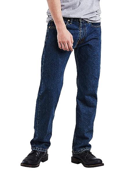 Levis 505 Regular Fit Jean, Hombre (Levis 501 con cremallera)
