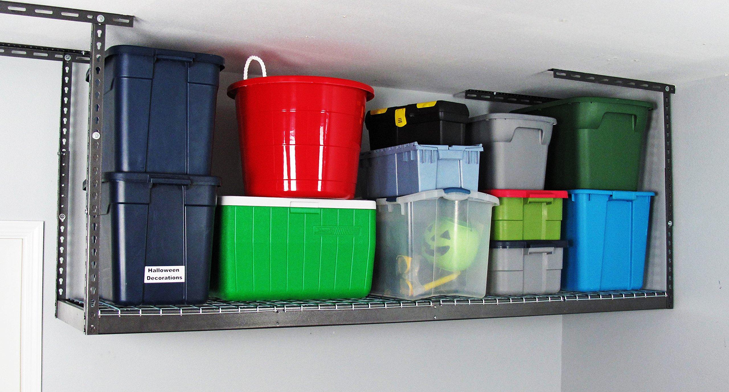 MonsterRAX - 2x8 Overhead Garage Storage Rack (24''-45'')