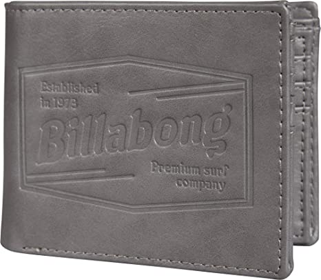 Cartera de hombre Billabong Junction Grey: Amazon.es: Equipaje