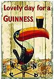 Guinness Toucan Wallart Wooden