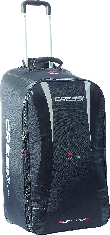 Cressi Moby - Maleta para Deportes acuáticos (85 l), Color Negro