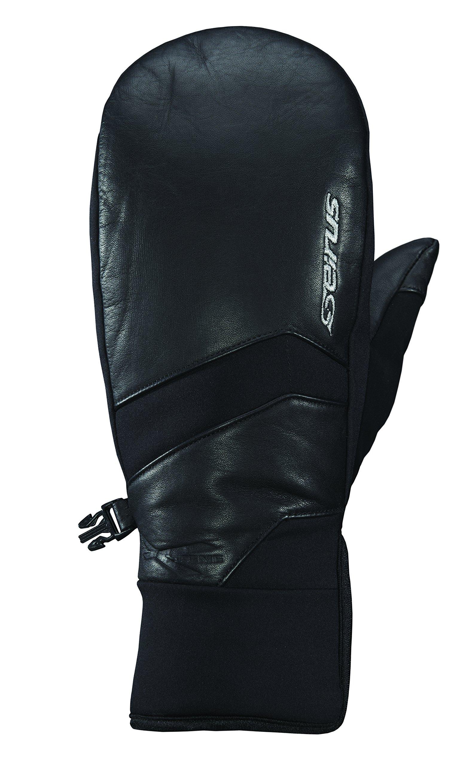 Seirus Innovation Men's Xtreme All Weather Edge Polartec Mittens, Black, Men's X-Large