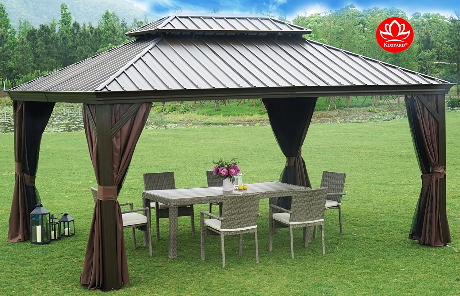 What Are Gazebos Made Of