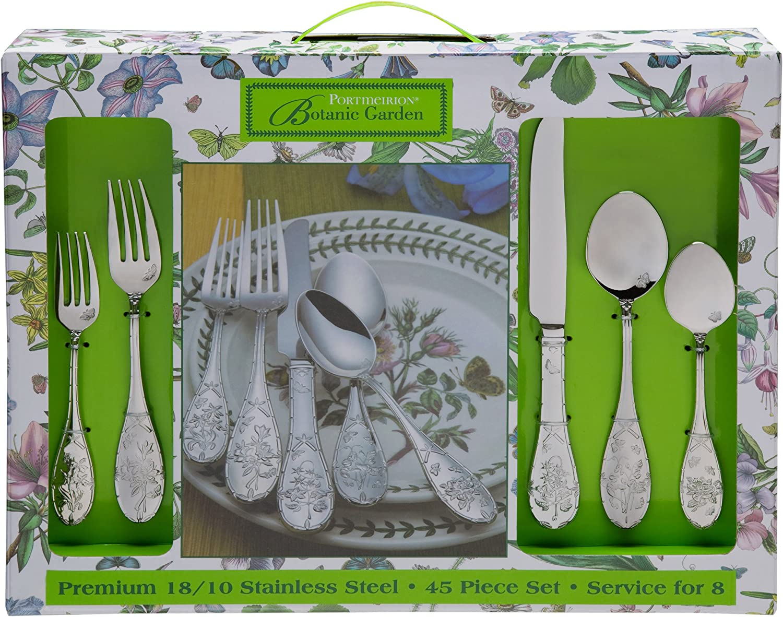 Portmeirion BOTANIC GARDEN Stainless NEW 18//10 Glossy Silverware CHOICE Flatware