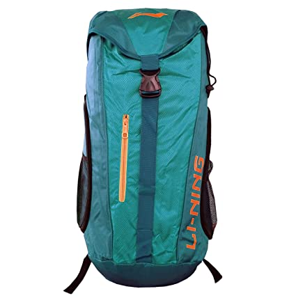 947639d7fafc Li-Ning Backpack Style Badminton Kitbag with Additional Shoe Compartment -  Sea Green