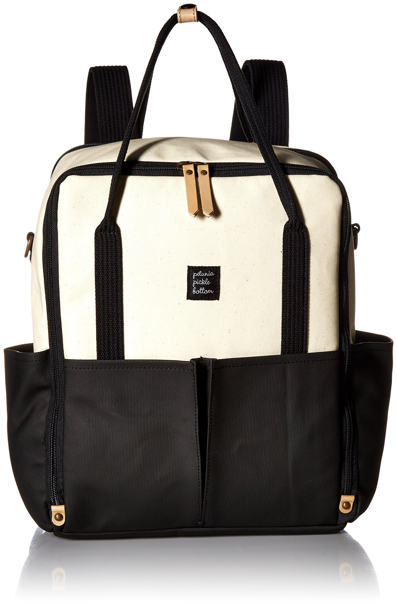 Petunia Pickle Bottom Inter Mix Backpack, Birch/Black
