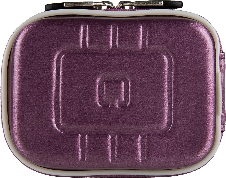 Vangoddy Semi Hard EVA Carrying Case for Sony WX350 18 MP Digital Camera and Screen Protector Purple