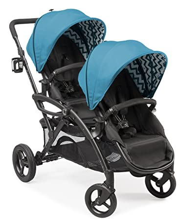 Contours Options Elite Tandem Double Toddler Baby Stroller Multiple Seating Configurations