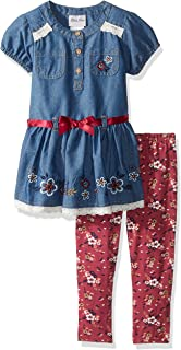 06a169accb67 Amazon.com  Little Lass Baby Girls  2 Piece Legging Set Smocked ...