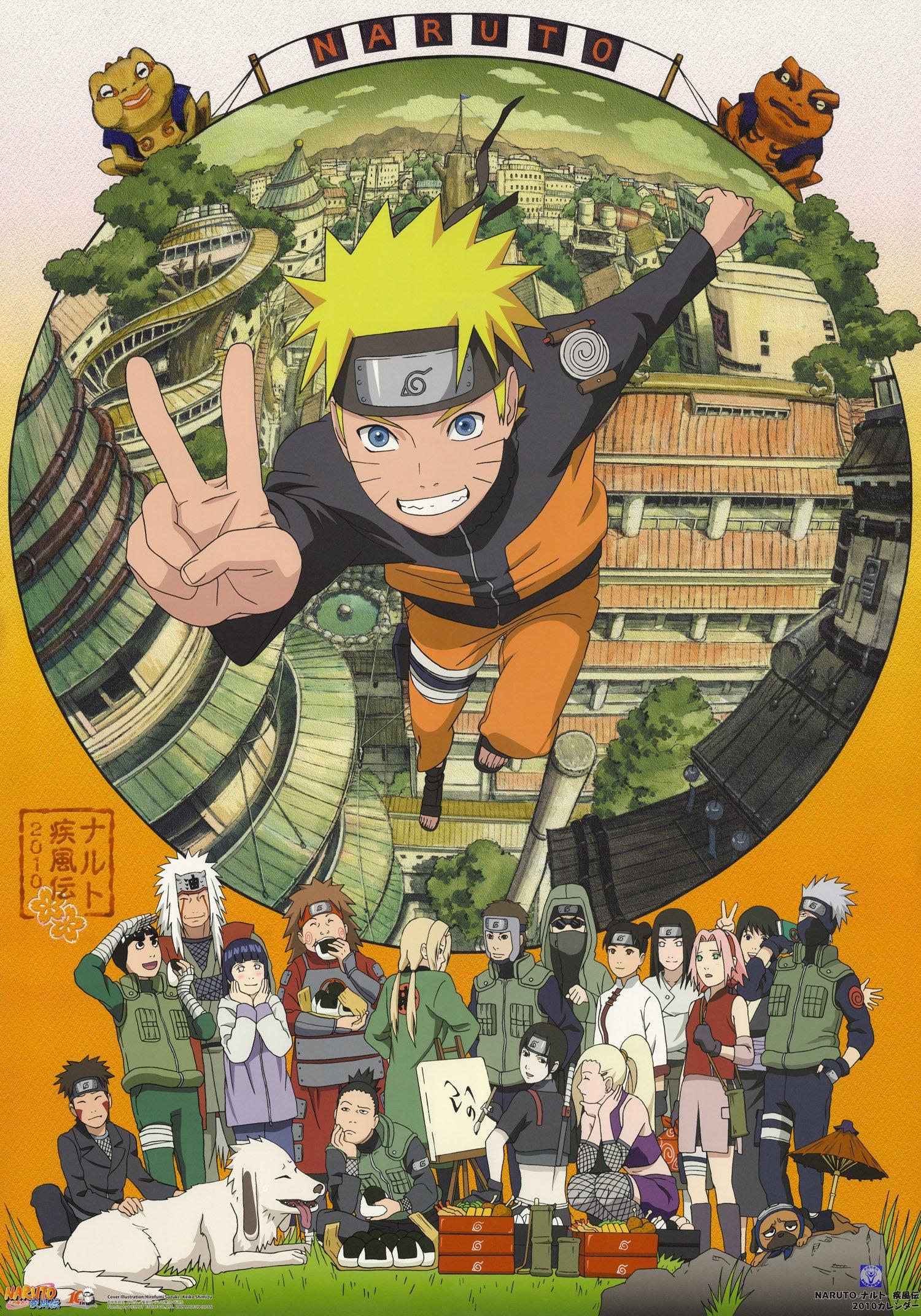 Naruto Calendar 2019 Naruto Wall Calendar 2019 (13 pages 8