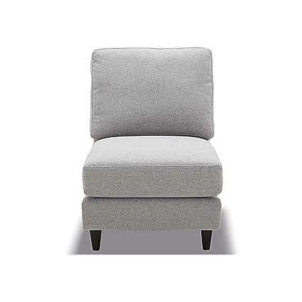 Brilliant Chita Modular Sofa And Loveseat Modern Fabric Couch For Living Room Grey Armless Seat Module Spiritservingveterans Wood Chair Design Ideas Spiritservingveteransorg