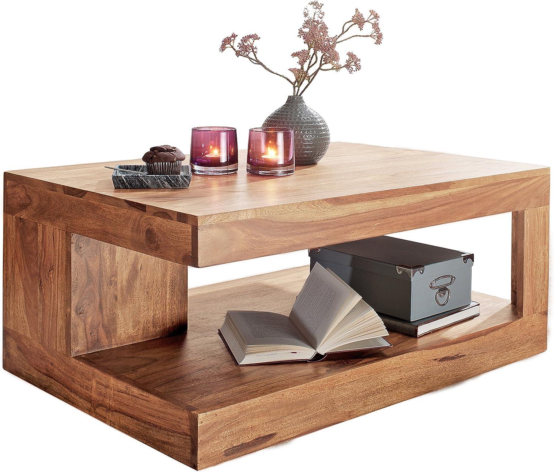 Hoge Kwaliteit Wohnling salontafel, hout 120 cm modern. 40 x 40 x 30 cm Natuurlijke acacia 120 cm Natuur 90 cm 5zVWwBU