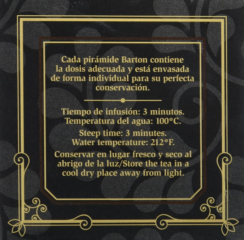 Barton Rooibos African Cup - 15 pirámides: Amazon.es: Alimentación y bebidas