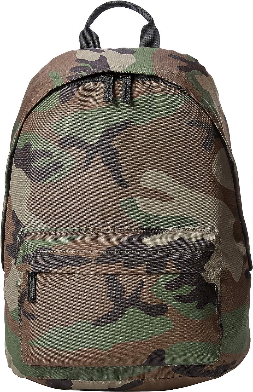 AmazonBasics Everyday School Laptop Backpack - Green Camouflage