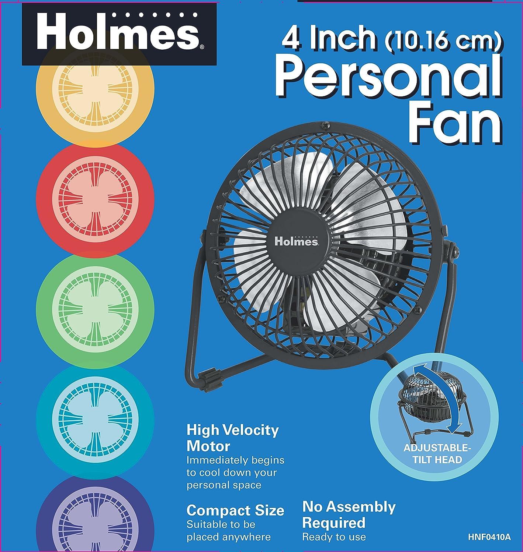 Holmes Mini High Velocity Personal Fan Hnf0410a Bm Westpointe 3 Speed Wiring Schematic Industrial Scientific