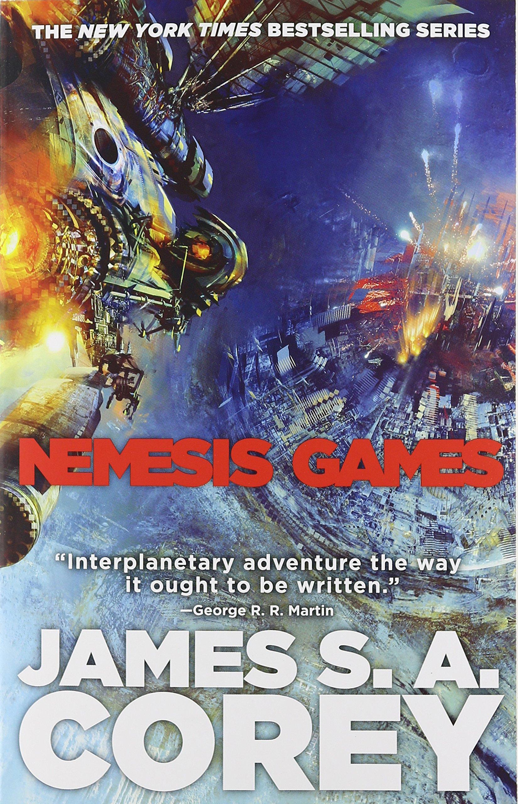Nemesis Games Expanse James Corey