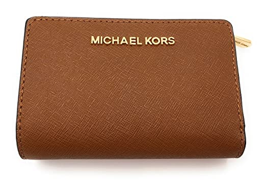 76d4d090ad590 MICHAEL Michael Kors Jet Set Travel Bifold Zip Coin Wallet (Luggage)