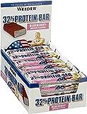 Weider Blueberry-Muffin 60g 32 Percent Protein Bar - Bars by Weider