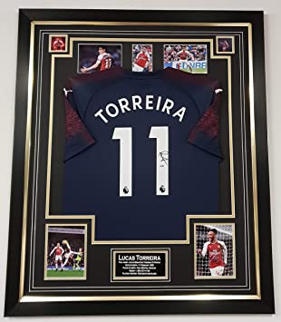 half off f7a89 4fea7 Thierry Henry of Arsenal Signed Shirt Champions League Final Display