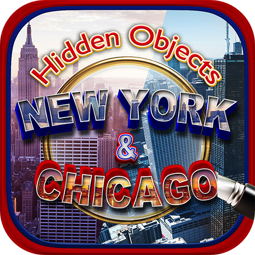 Hidden Objects - New York to Chicago Adventure & Object Time Puzzle Photo Free Seek Game]()