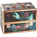 Beautify Professional Large Lockable Vanity Make Up Beauty Storage Case