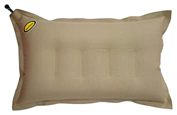 Duckback Brown Air Fill Pillow