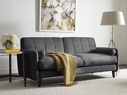 Super Serta Savanna Collection 61 Loveseat In Slate Gray Alphanode Cool Chair Designs And Ideas Alphanodeonline