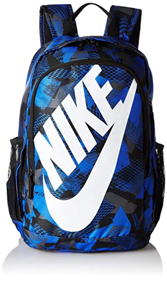 87619167bb Image Unavailable. Image not available for. Colour  Nike 25 Ltrs Medium  Blue Black White School Backpack ...